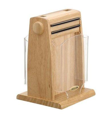 XXLselect Messerhalter | Holz mit Magnetbalken