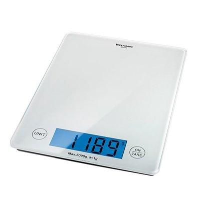 XXLselect Elektro-Waage | mit Glasplatte | 5kg/1gr