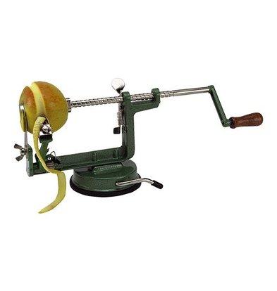 XXLselect Apfelschäl und Teilmaschine | Vakuum-Fuß Befestigung