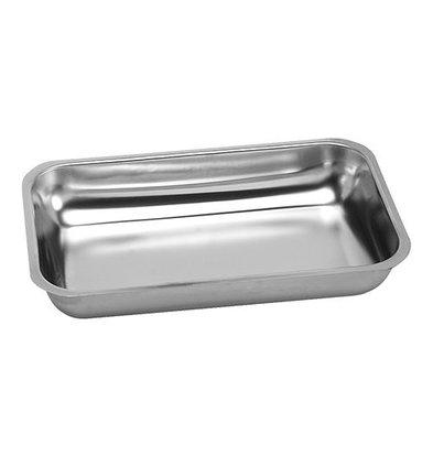 XXLselect Fleischbehälter | Edelstahl | 7,5(h)x36x22cm