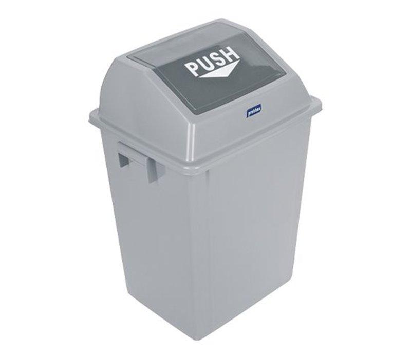 XXLselect Abfallbehälter mit SchwingDeckel | 40L