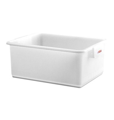 XXLselect Fleischbehälter | Kunststoff | Weiß | 20(h)x53x40cm