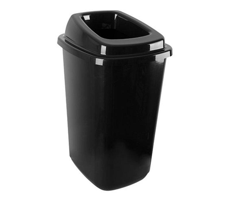 XXLselect Abfallbehälter | Kunststoff | Schwarz | 45L