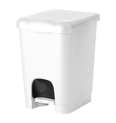 XXLselect Treteimer | Kunststoff | Einsatzeimer | Weiß | 20L