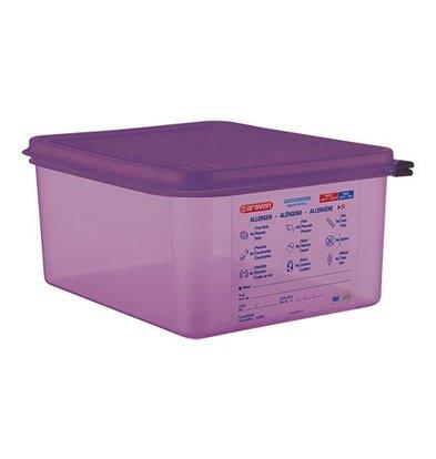 Araven Lebensmittelbehälter | Doppelverschlusssystem | 1/2GN-150mm