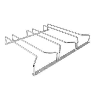 XXLselect Gläserschiene | Chromiert | Decke Modell | 3x20cm