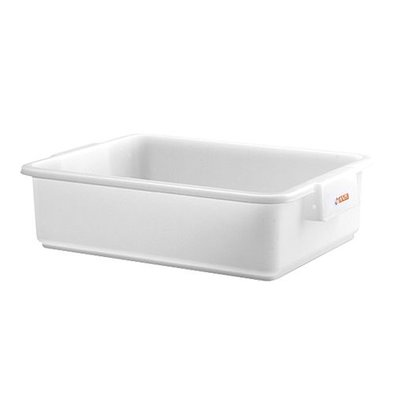 XXLselect Fleischbehälter | Kunststoff | Weiß | 14(h)x53x40cm