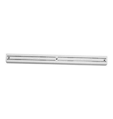 Emga Magnet Messerhalter | Kunststoff | 2 Magnet-Balken | Silber | 35cm