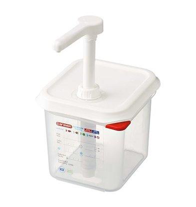 XXLselect Saucen Spender | Kunststoff | 1/6GN-150mm