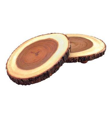 XXLselect Auslageplatte | Holz | Ø30/38cm
