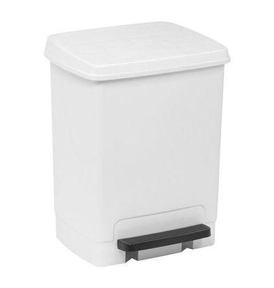 XXLselect Treteimer | Kunststoff | Einsatzeimer | Weiß | 26L