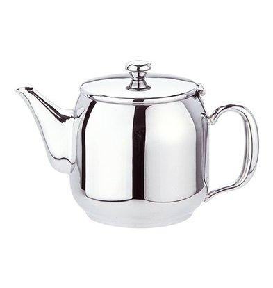 XXLselect Teekanne | Edelstahl Hochglanz poliert | 0,35L