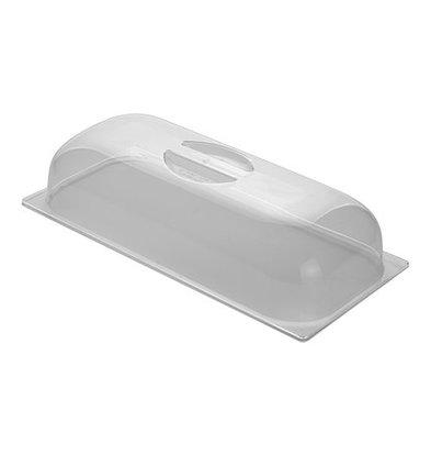 XXLselect Speiseeisbehälter Deckel | Polykarbonat | 36x16,5cm