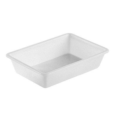 XXLselect Fleischbehälter | Kunststoff | Weiß | 12(h)x51x35cm