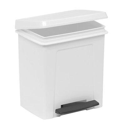 XXLselect Treteimer | Kunststoff | Einsatzeimer | Weiß | 8L