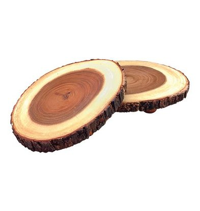 XXLselect Auslageplatte | Holz | Ø20/25cm