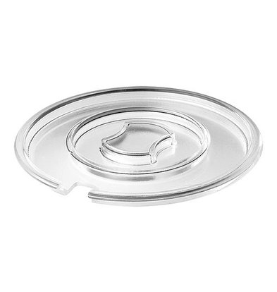 XXLselect Deckel | für Servierschale | Klarsicht mit Löffelaussparung | Ø20cm