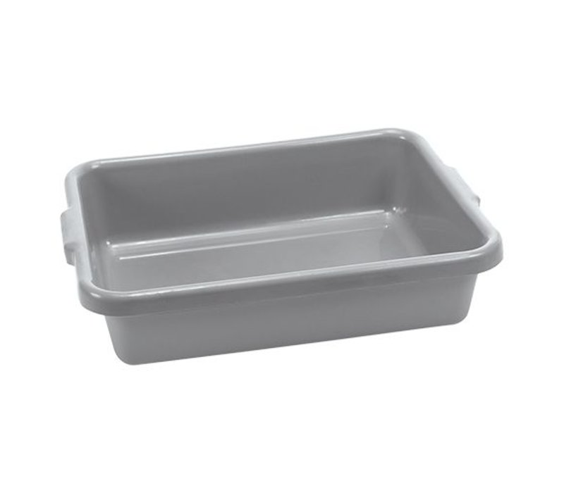 XXLselect Abräumbehälter mit Griffen | Kunststoff | Grau
