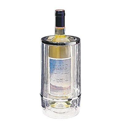 XXLselect Weinkühler | Kunststoff klar durchsichtig | Ø12cm