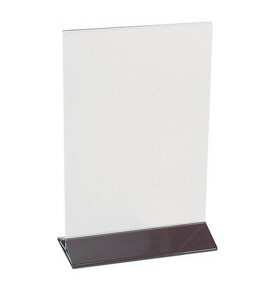 XXLselect Speisekartenhalter | Plexiglas | durchsichtig | A5