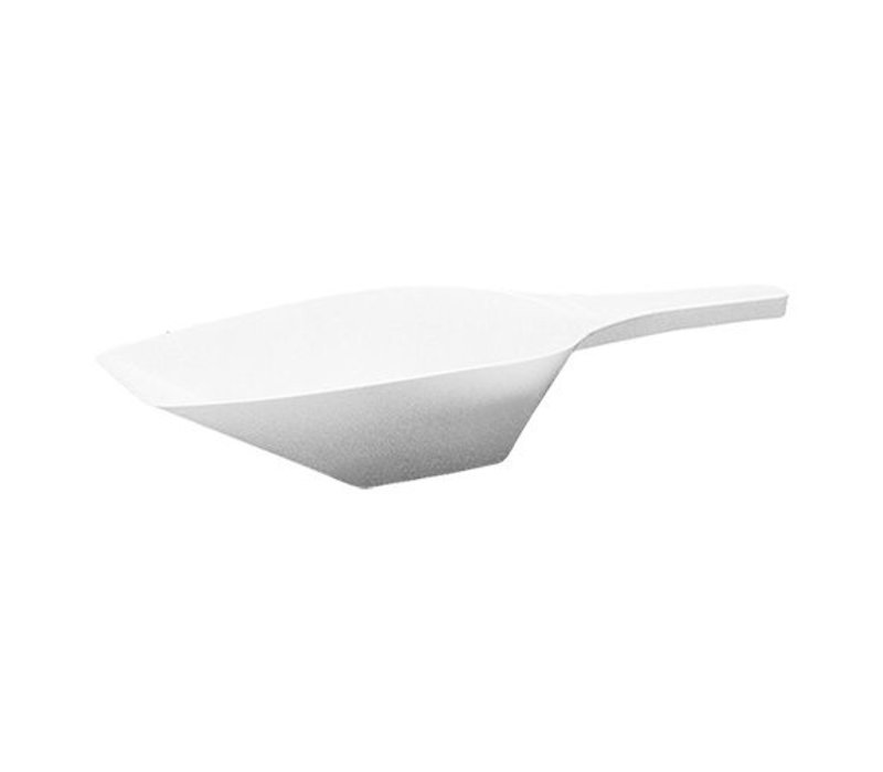 XXLselect Abwiegeschaufel | Kunststoff | Weiß | 1000ml