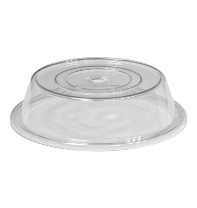 XXLselect Teller Deckel | Polycarbonat | Fingeröffnung | Ø26cm