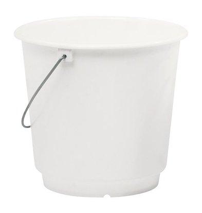 XXLselect Eimer mit Maßeinteilung | Kunststoff | Weiß | 15L