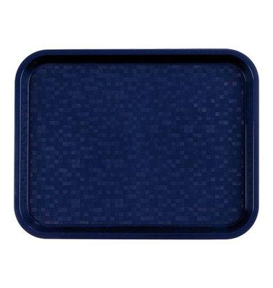 Roltex Serviertablett   Polypropylen   Blau   45,5x35,5cm