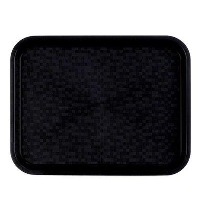 Roltex Serviertablett | Polypropylen | Schwarz | 45,5x35,5cm