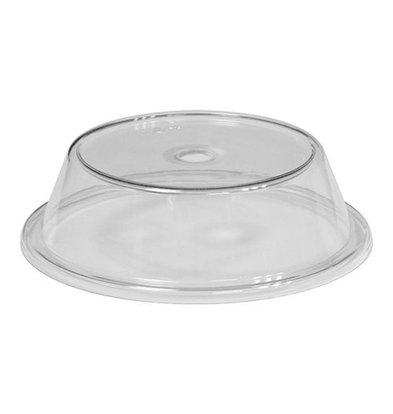 XXLselect Teller Deckel | Polycarbonat | Fingeröffnung | Ø23,8cm