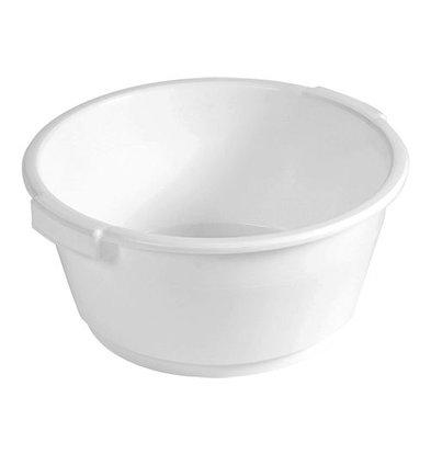 XXLselect Restenbehälter | Polypropylen | Weiß | 18(h)xØ38cm