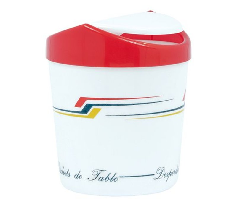 XXLselect Abfallbehälter mit Klappdeckel | Kunststoff
