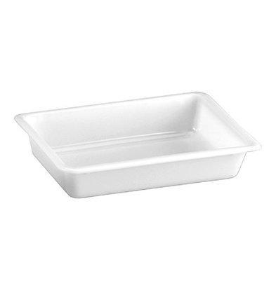 XXLselect Restenbehälter | Kunststoff | Weiß | 7(h)x34x23cm