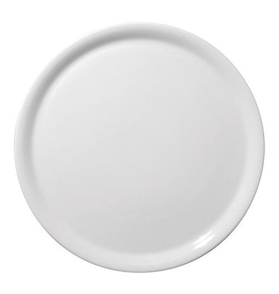 XXLselect Teller | Porzellan | Rund | Weiß | Ø31cm