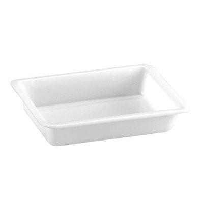 XXLselect Restenbehälter | Kunststoff | Weiß | 6(h)x30x21cm