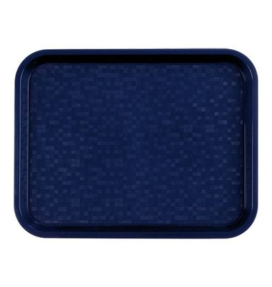 Roltex Serviertablett | Polypropylen | Blau | 34,5x26,5cm