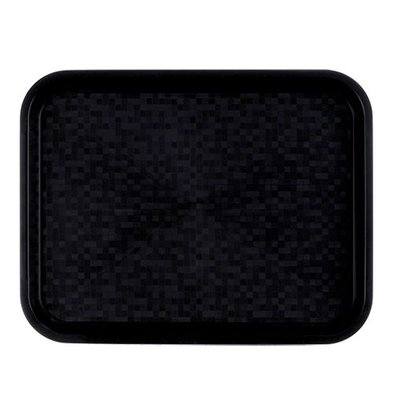 Roltex Serviertablett | Polypropylen | Schwarz | 34,5x26,5cm