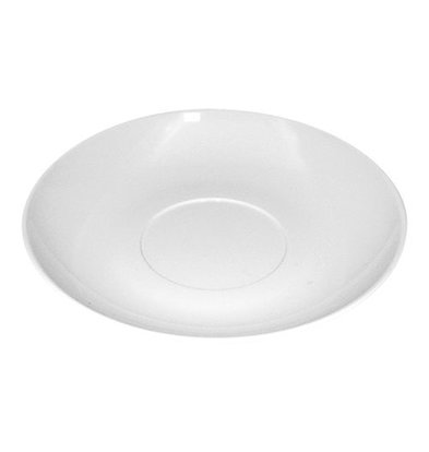 XXLselect Untertasse | Weiß | Polycarbonat | 14cm