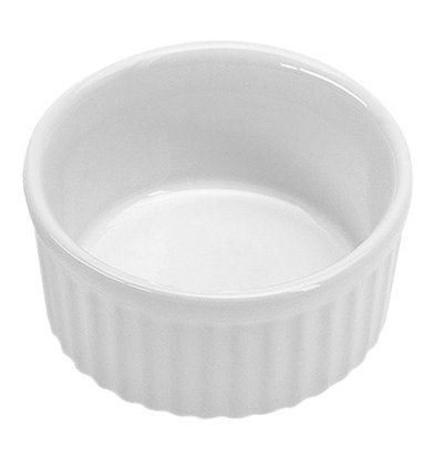 XXLselect Auflaufform | Porzellan | Weiß | Ø12cm