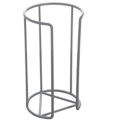 XXLselect Tellerstapler | Kunststoff Draht | Grau | Ø15cm