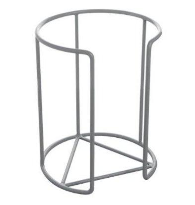 XXLselect Tellerstapler | Kunststoff Draht | Grau | Ø22cm