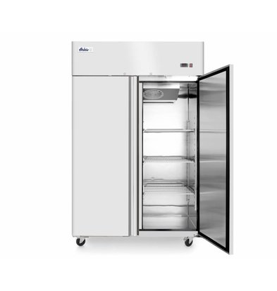 Hendi Kühlschrank Umlufkühlung | Völlig Edelstahl | Selbstschließend | 1300 Liter | 1314x805x(h)2065mm