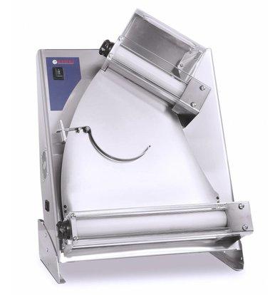 Hendi Teigausrollmaschine | Teigdurchmesser 260-400mm | 550x365x(h)750mm