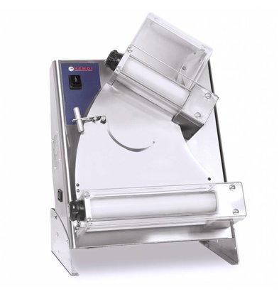 Hendi Teigausrollmaschine | Teigdurchmesser 140-300mm | 440x365x(h)640mm