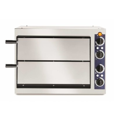 Hendi Pizzaofen Basic 2/40 | 2,4kW | 568x430x(h)425mm
