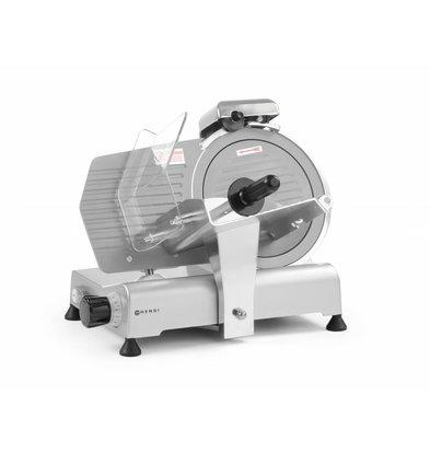 Hendi Aufschnittmaschine Kitchen Line 250mm | Teflonbeschichtung | 494x402x(h)398mm