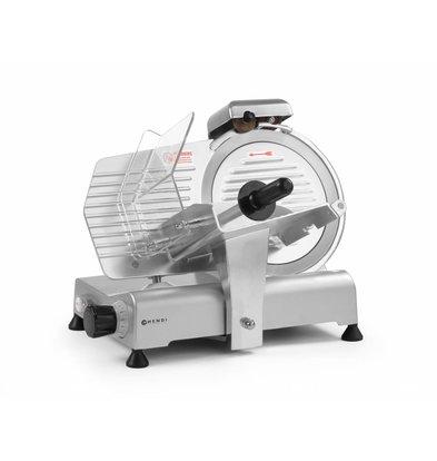 Hendi Aufschnittmaschine Kitchen Line 250mm | 494x402x(h)398mm