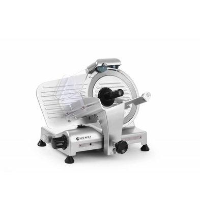 Hendi Aufschnittmaschine Profi Line | 230V-280W | Ø220mm  | 410x400x(h)350mm