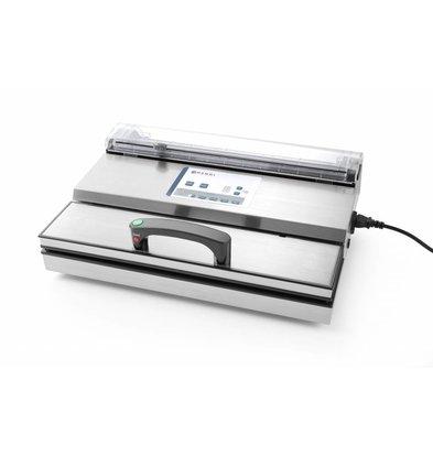 Hendi Vakuumverpackungsmaschine für Vakuumbeutelrollen | 406mm | 490x260x(h)145mm