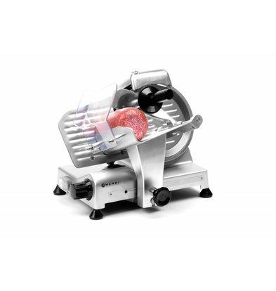Hendi Aufschnittmaschine Profi Line | 230V-200W | Ø195mm | 385x410x(h)340mm
